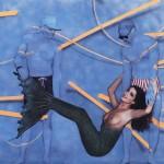 Mermaid W/trompe L'oeil Guys